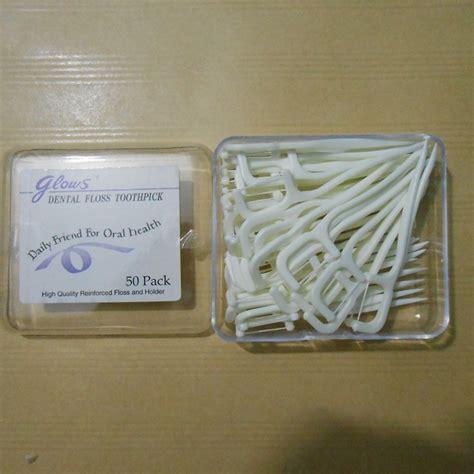Benang Pembersih Gigi jual benang tusuk gigi dental floss toothpick bias