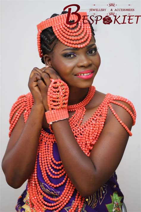 necklaces on traditional nigerian attires 17 best images about edo state benin traditional wedding