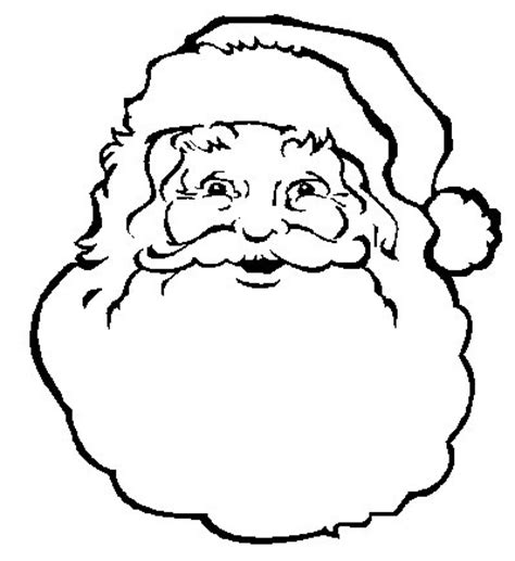 printable santa face template picture of santa s face new calendar template site