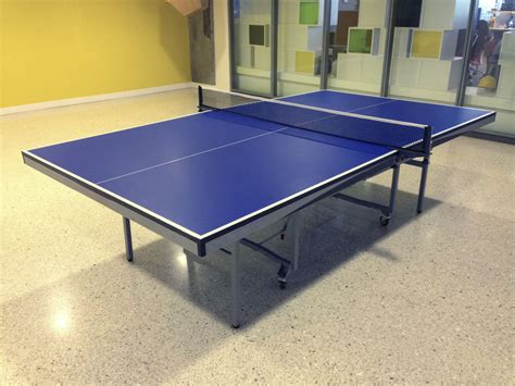 everything you need to know about ping pong table dimensions