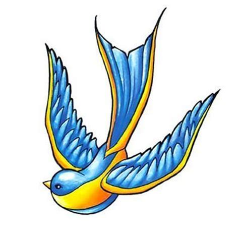 tattoo old school bird significado old school bluebird tattoo design