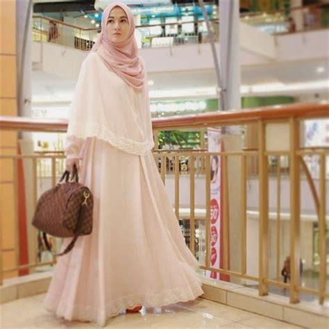 Busana Gaun Trendy 21 trend model busana muslimah syar i terbaru untuk