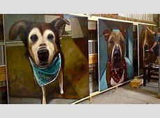 Painter Immortalizes 5,500 Doomed Shelter Dogs Photos ... Yellowstone Park Nj