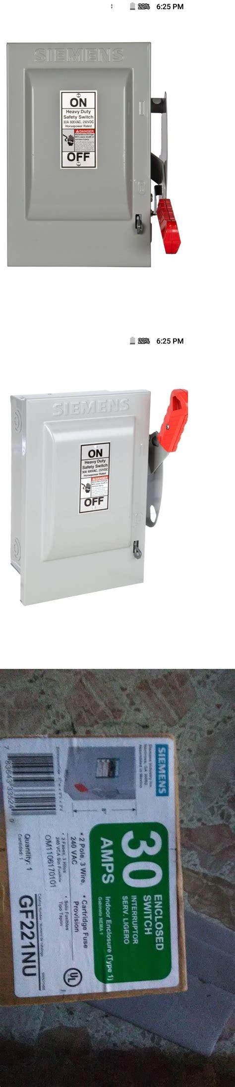 circuit breakers  fuse boxes  siemens  amp  pole  wire circuit breaker box