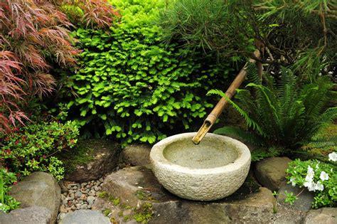 japanese garden fountain bamboo fountain design ideas