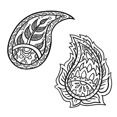 pattern drafting ideas how to draw a paisley design in 6 steps people and