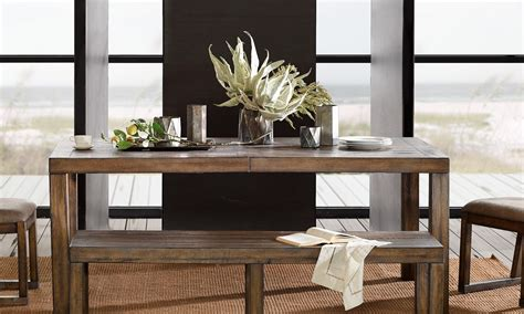 overstock dining room tables how to decorate a dining room table overstock
