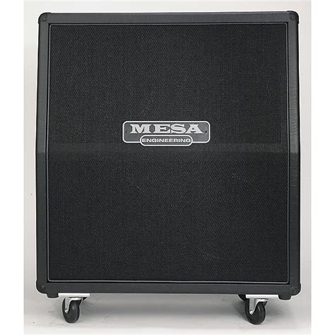Mesa Cabinet 4x12 by Mesa Boogie 4x12 Slant Rectifier Cabinet Reverb