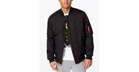 Jaket Adidad 03 Black adidas originals s superstar bomber jacket in black for lyst