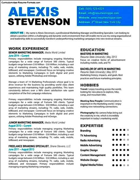 Free Resume Template For Mac by Resume Templates Free Mac Free Sles Exles