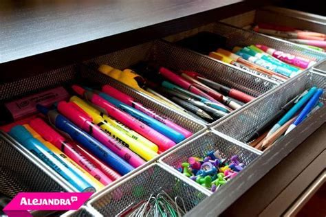 Video How To Organize Office Supplies In The Home Desk Organization Supplies
