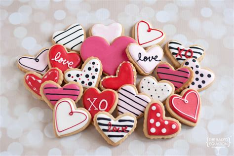 valentines day cookies s day cookies the baked equation