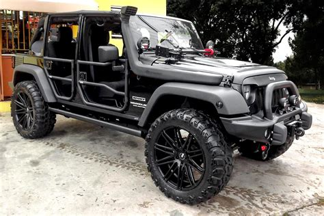 jeep wrangler matte black xo 174 milan wheels matte black rims