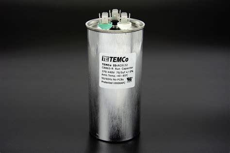 what is an ac dual capacitor temco 70 5 mfd uf dual run capacitor 370 440 vac volts ac motor hvac 70 5