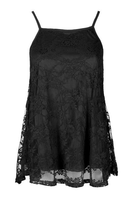 Cc Dress Lace Square womens strappy cami square neck floral lace