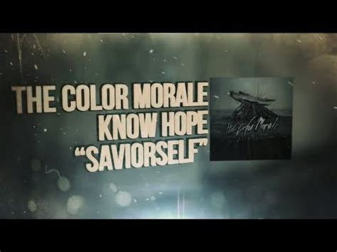 the color morale lyrics the color morale saviorself lyrics