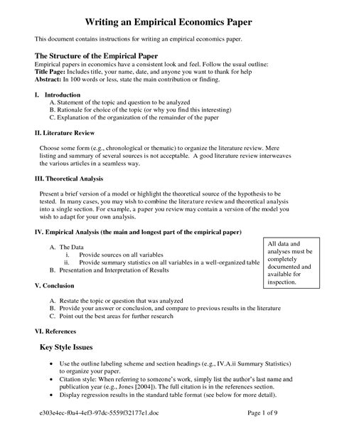 writing the methods section of a research paper exle of method section in a research paper