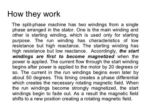 split phase induction motor understanding split phase induction motors