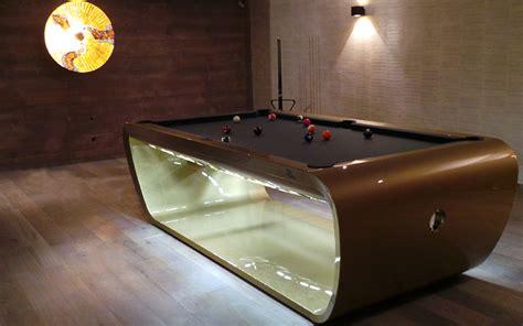 blacklight pool table the stylish blacklight table billard toulet