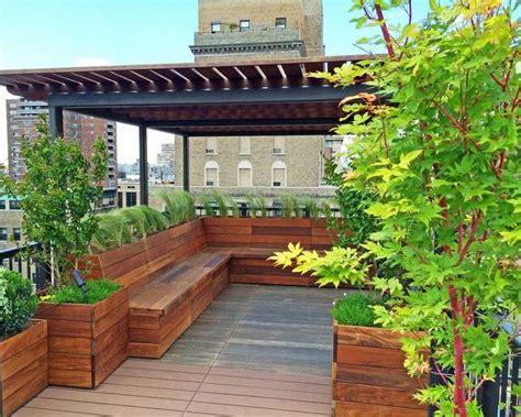 Picnic Table Bench Combo Plan Brise Vue Balcon 50 Exemples Fascinants En Bois Et Bambou