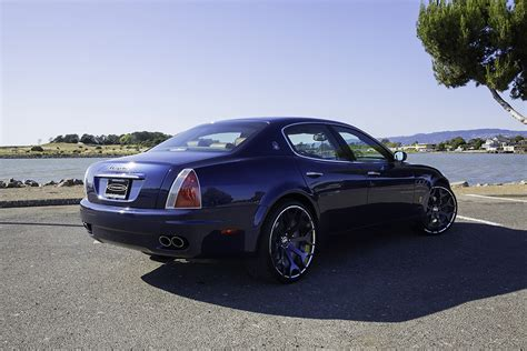 maserati forgiato east bay blue quattraporte on capolavaro ecl
