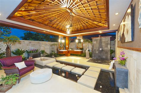 indoor outdoor bathroom hgtv the interior of paradise in hawaii interiors remembered