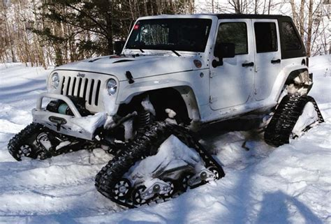 With Jeeps These 5 Jeeps With Tracks Are Ready For Winter Road