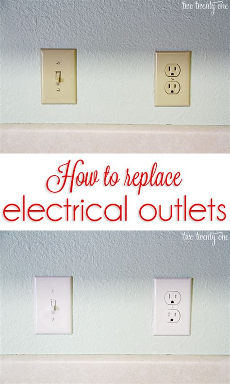 colored outlets how to replace electrical outlets electrical outlets