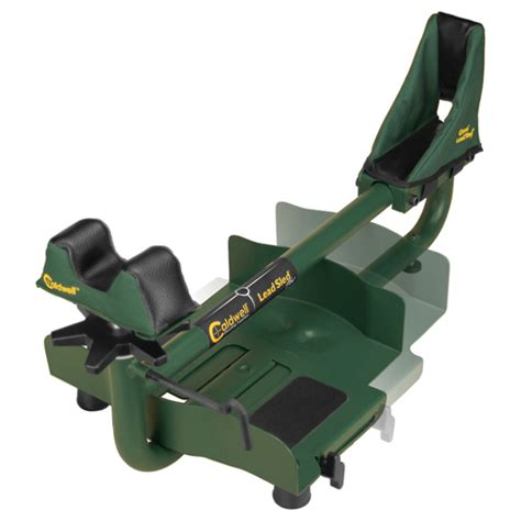 lead sled shooting bench caldwell lead sled plus shooting rest