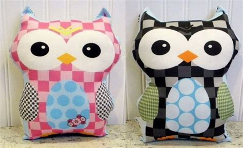 Handmade Owls - 1000 images about pillows on shabby chic