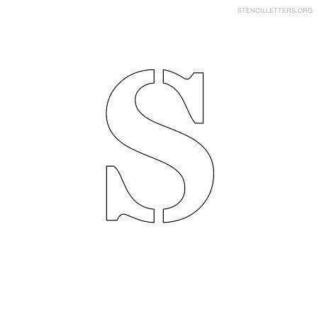 Printable Small Stencils