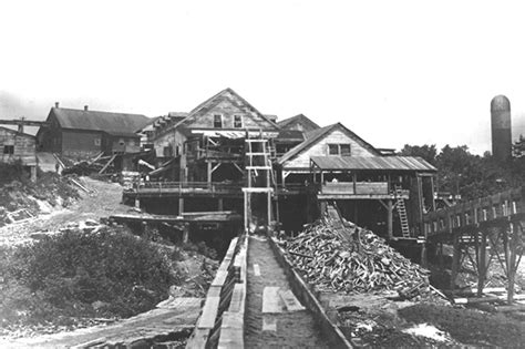 dalle en bois 1898 histoire foresti 232 re de l outaouais un deux scieries