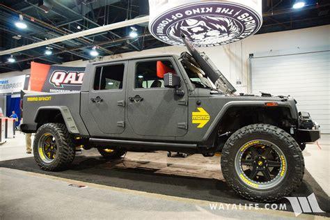 bandit jeep 2016 sema sprintex momo bandit jeep jk cab