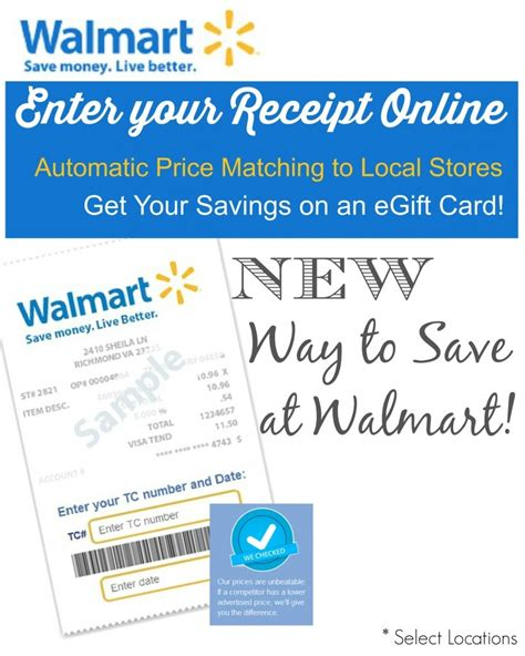 Walmart Gift Card Receipt - how to save tons of money shopping at walmart trusper