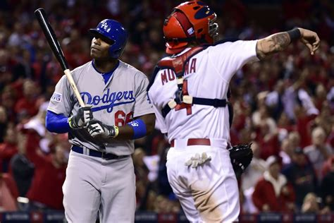 puig benched yasiel puig benched for nlds game 4 true blue la