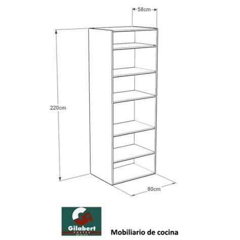 armario de cocina columna altura  mobilario de cocina
