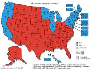 us election map of 2004 daniel s political musings may 2006