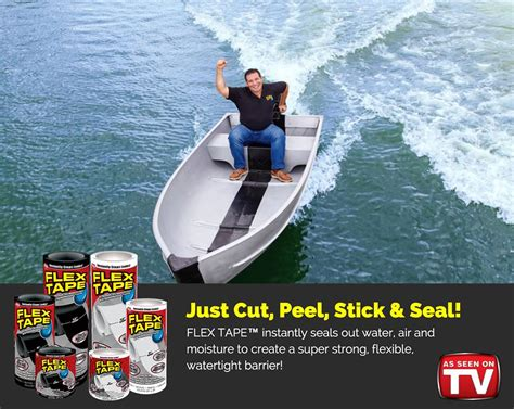 flex tape boat commercial flex seal have you seen our flex tape commercial on tv