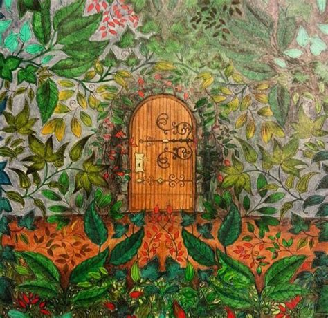 secret garden coloring book finished pages 313 best images about amazing on image