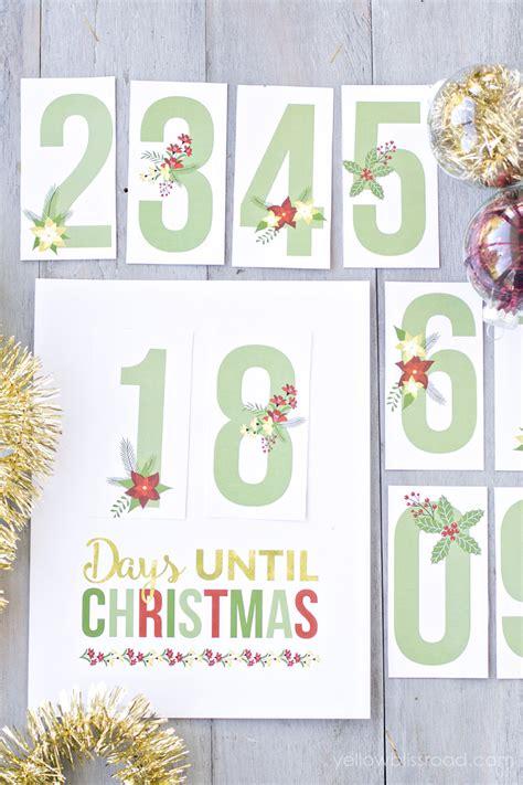 printable xmas countdown printable christmas countdown
