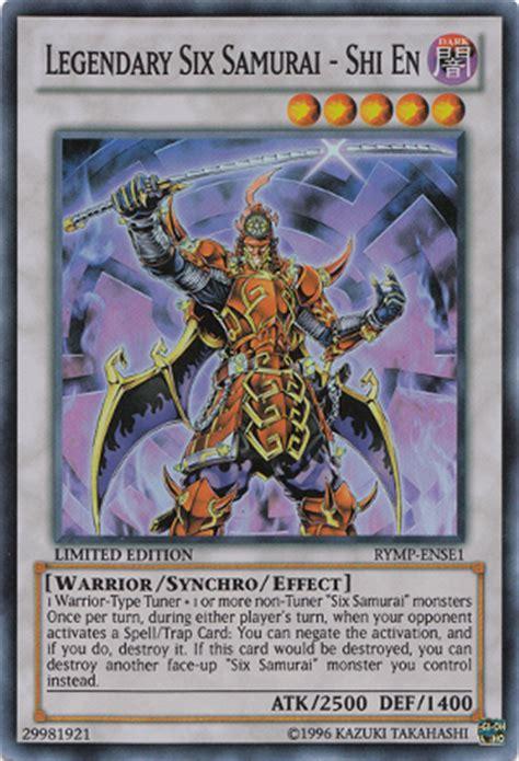 Shadow Of The Six Samurai Shien Spwa En012 1st Edition legendary six samurai shi en yu gi oh wiki neoseeker