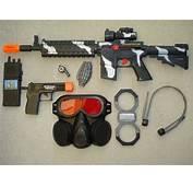 ToyGunZone  M16 Police SWAT Combat Mission Toy Gun Play