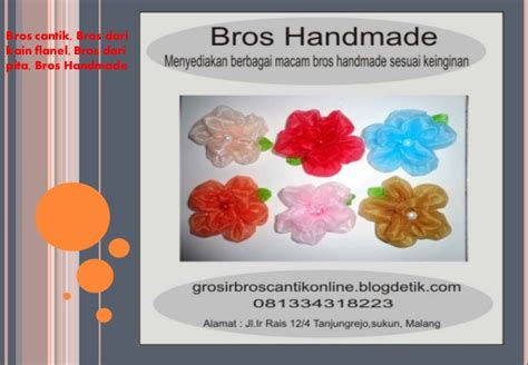 Bros Rajut Unik bros rajut bros dari kain flanel bros cantik dan unik