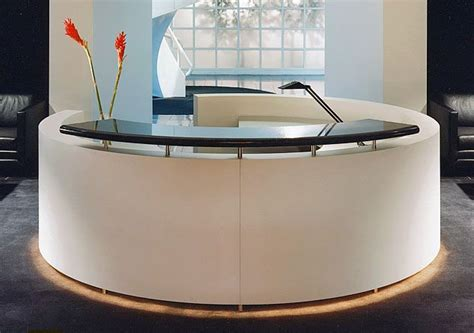 reception desk with transaction counter exquisit custom design white round reception desk with