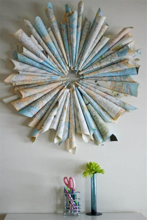 schmetterling wanddeko 2219 30 creative diy maps decorations