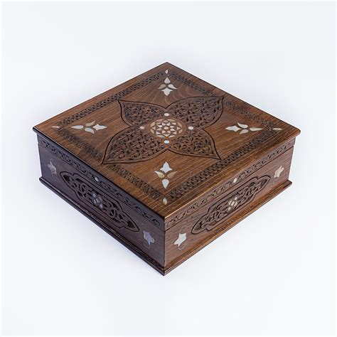 Luxury Handmade - luxury handmade box large brown handmade items by
