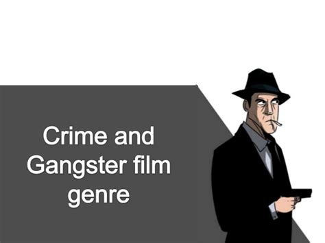 Film Gangster Genre | crime and gangster film genre