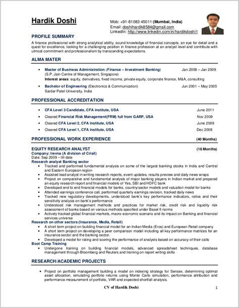 1 Page Resume Template by 1 Page Resume Template Resume Resume Exles Qnpbgbezwm