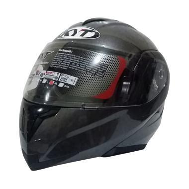 Helm Kyt Modular Rrx jual kyt rrx helm modular gun metal metalik harga kualitas terjamin blibli