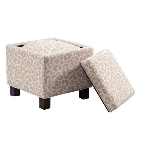 ottoman square storage madison park shelley square storage ottoman with pillows